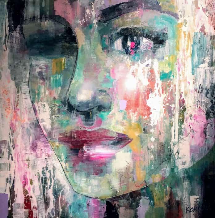 vrouwenschilderij,portret,karlien,art laren,art district