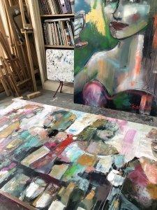 kunst,art,laren,art laren,atelierroute laren,karlienart