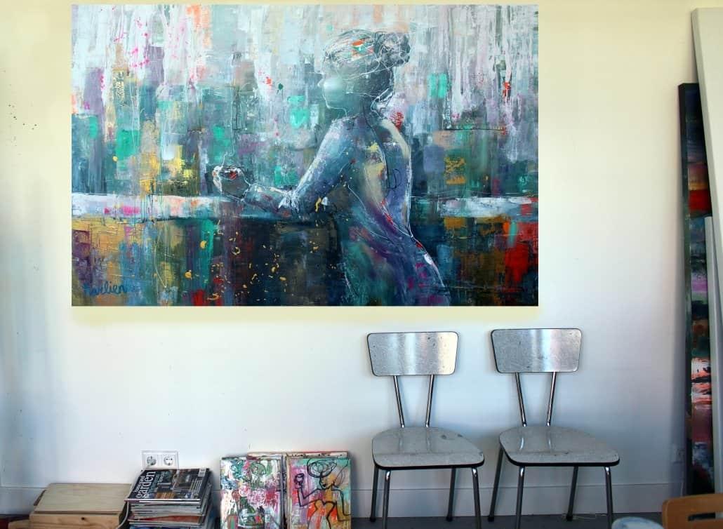 kunst,karlien,aan de muur,interieur inspiratie